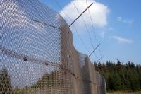 Streckmetallzaun / Grenzsperranlagen bei Sorge im Harz
