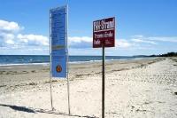 Nördlichster Punkt der ehem. deutsch-deutschen Grenze: Priwall bei Travemünde an der Ostsee