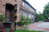 DDR-Grenzsäule vor dem Grenzmuseum Bad Harzburg