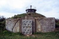 Beobachtungsturm und Bunker an der innerdeutschen Grenze bei Hötensleben
