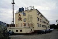 Waldhotel Eisenherz in Schattin, ehemalige Kaserne der DDR-Grenztruppen
