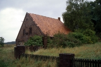 verlassene Wohnhäuser in der Dorfrepublik Rüterberg
