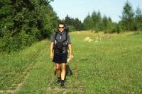 Wandern auf dem Kolonnenweg der ehm. innerdeutschen Grenze