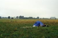 Zelten auf dem Grünen Band
