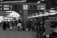 Bahnhof Berlin-Alexanderplatz in Ostberlin, DDR 60er Jahre