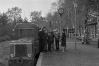 Pioniereisenbahn in Berlin-Wuhlheide, Ostberlin, 50er Jahre