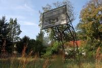 Sportplatz / Tobewiese des einstigen Betriebsferienlagers