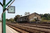 Bahnhof Strausberg Vorstadt, auf zum ehemaligen Kinderferienlager
