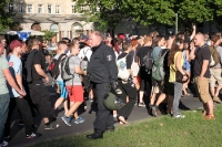 Fuckparade 2013 unterwegs am Strausberger Platz