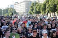 Fuckparade 2013 unterwegs auf der Karl-Marx-Allee