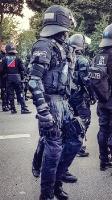 Polizei im Einsatz in Hamburg