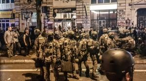 Polizeieinsatz der Spezialkräfte im Schanzenviertel