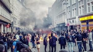 Randale / Auseinandersetzungen im Schanzenviertel (07.07.2017)