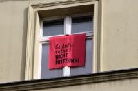 Protest der Anwohner in der Ackerstraße: Gentrification? Nicht Mitte uns!
