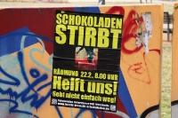 Der Schokoladen in der Ackerstraße in Berlin-Mitte stirbt...