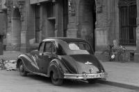 Fahrzeug / Auto in den 50er Jahren, DDR