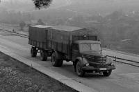 Skoda-LKW in der DDR / SBZ in den 50er Jahren