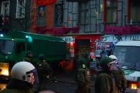 Liebigstraße 14 in Friedrichshain: 02.02.2011 - morgens Räumung & Proteste, abends Demo & Krawalle