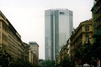Die BfG-Bank in Frankfurt / Main, 1991