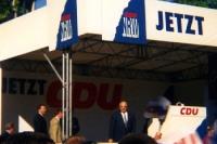 Altbundeskanzler Helmut Kohl auf einer CDU-Veranstaltung in NRW, Mitte 90er Jahre
