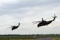 Formation von Bundeswehr-Hubschraubern