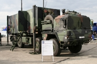 Lastkraftwagen der Bundeswehr