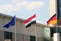 Flaggen: Europa, Ägypten & Deutschland