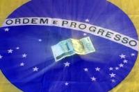 Die brasilianische Währung Real - Ordem e Progresso