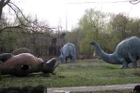 Auch Dinos fallen einmal um...