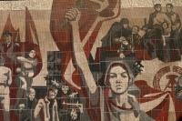 sozialistisches Wandmosaik