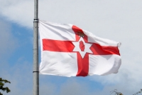 nicht mehr offizielle Flagge Nordirlands