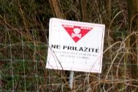 Ne Prilazite! Minengefahr auf dem Balkan (in diesem Fall Kroatien)