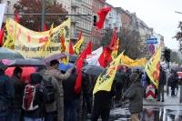 Berliner Montagsdemo zieht durch Neukölln, 16.10.2010