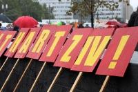 Proteste gegen Hartz 4 und Sozialabbau
