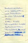 Diktat aus der 1. Klasse an der DDR-POS