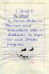 4. April 1981: Diktat in der 1. Klasse