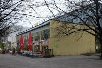 Eis-Geschäft an der Karl-Marx-Allee, 2011