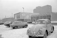 Kino International und Mokka Eis Bar in Ostberlin, 60er Jahre