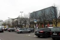 Kino International und Eis-Geschäft in Berlin, 2011