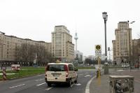 Straßenverkehr am Strausberger Platz, 2011