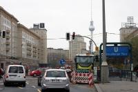 Karl-Marx-Allee / Strausberger Platz in Berlin, 2011