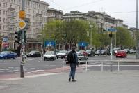 Ecke Karl-Marx-Allee / Warschauer Straße, 2011