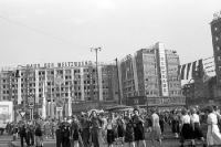 Haus der Weltjugend (Alexanderhaus) am Alexanderplatz, Anfang 50er Jahre