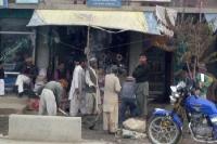 Geschäft und Menschen in Faizabad (Feyzabad, Fayz Abad), Islamische Republik Afghanistan
