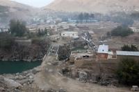 Blick auf Faizabad (Feyzabad, Fayz Abad), Islamische Republik Afghanistan