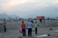 Kinder lassen in Kabul Drachen steigen, Islamische Republik Afghanistan
