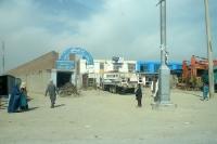 Baumaschinen / Fahrzeuge in der afghanischen Hauptstadt Kabul, Islamische Republik Afghanistan