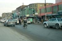 Straßenverkehr / Autos in der afghanischen Hauptstadt Kabul, Islamische Republik Afghanistan