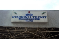 Stacioni i Trenit Tirane, Bahnhof der albanischen Hauptstadt Tirana, Albanien