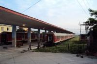 Bahnhof der albanischen Hauptstadt Tirana